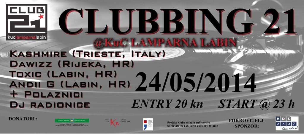 clubbing21-plakat