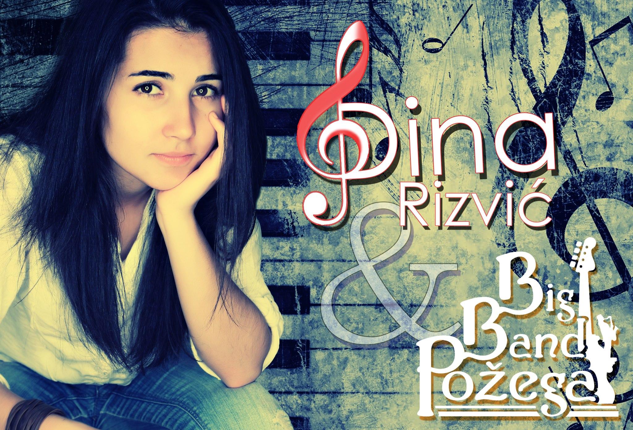 Dina Rizvić & Big Band Požega @ Riva Rabac 24.07.2015.