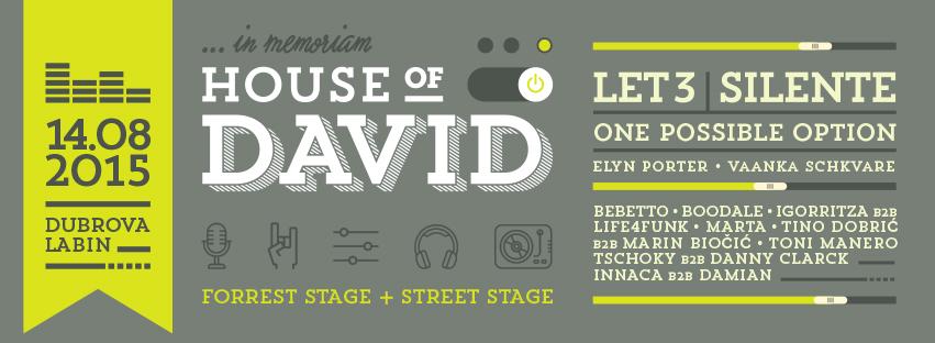 Memorijal HOUSE OF DAVID i ove godine na Dubrovi kraj Labina