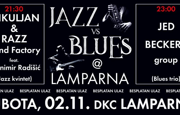 KONCERT / Jazz vs. Blues @ Lamparna [02/11/2019]