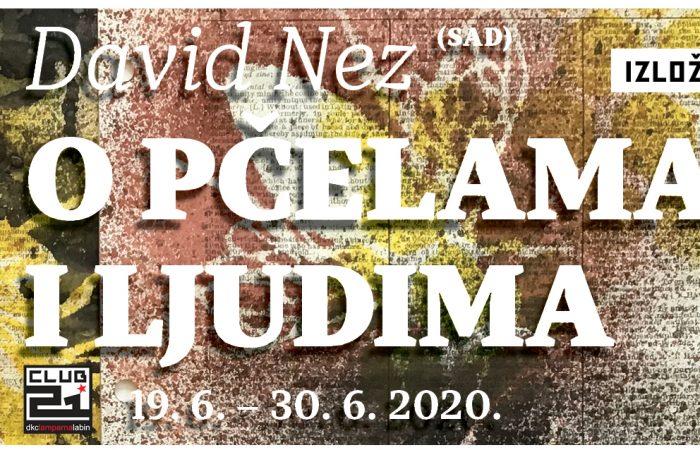 """Osnivač legendarne OHO grupe David Nez predstavlja se u DKC Lamparna  izložbom """"O pčelama i ljudima"""""""